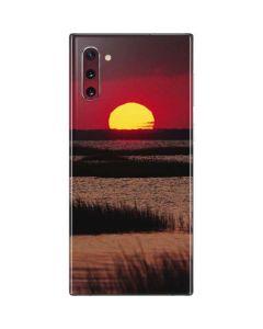 Sunset Over A Chincoteague Island Marsh - Virginia Galaxy Note 10 Skin