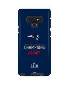 Super Bowl LIII Champions Go Pats Galaxy Note 9 Pro Case