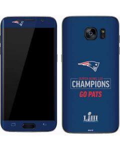 Super Bowl LIII Champions Go Pats Galaxy S7 Skin