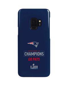 Super Bowl LIII Champions Go Pats Galaxy S9 Lite Case