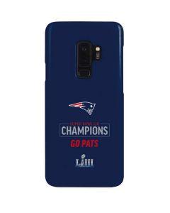 Super Bowl LIII Champions Go Pats Galaxy S9 Plus Lite Case