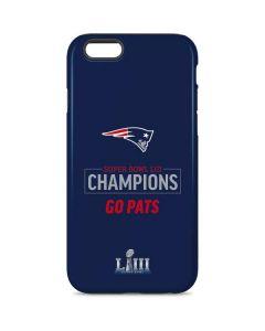Super Bowl LIII Champions Go Pats iPhone 6 Pro Case
