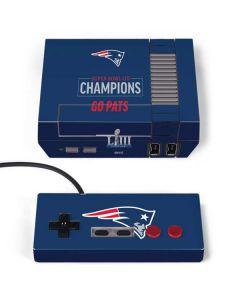 Super Bowl LIII Champions Go Pats NES Classic Edition Skin