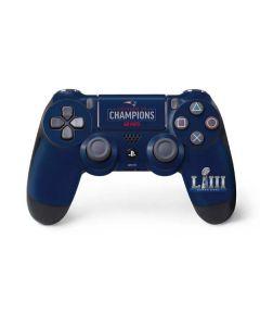 Super Bowl LIII Champions Go Pats PS4 Controller Skin