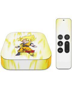 Super Saiyan Apple TV Skin