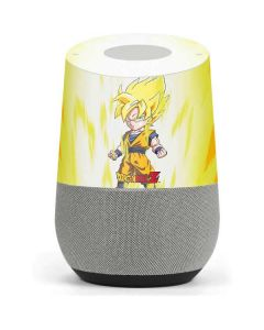Super Saiyan Google Home Skin