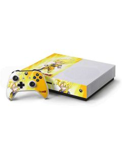 Super Saiyan Xbox One S Console and Controller Bundle Skin