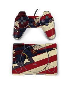 Superman American Flag PlayStation Classic Bundle Skin