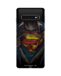 Superman Chalk Galaxy S10 Skin