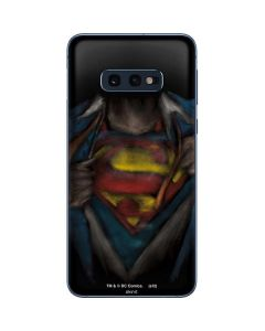 Superman Chalk Galaxy S10e Skin