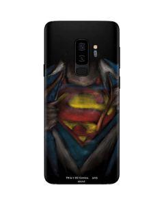 Superman Chalk Galaxy S9 Plus Skin