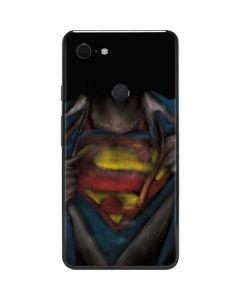 Superman Chalk Google Pixel 3 XL Skin