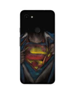 Superman Chalk Google Pixel 3a XL Skin