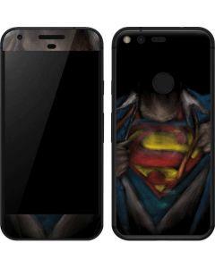 Superman Chalk Google Pixel XL Skin