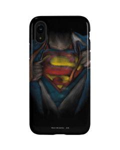 Superman Chalk iPhone XR Pro Case