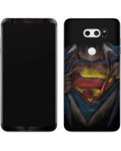 Superman Chalk V30 Skin