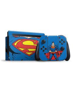 Superman Chest Nintendo Switch Bundle Skin