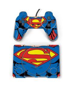 Superman Chest PlayStation Classic Bundle Skin