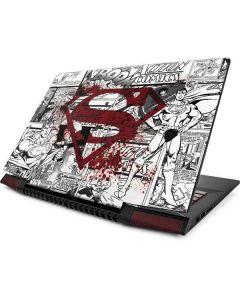 Superman Comic Logo in Red Lenovo Ideapad Skin