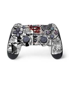 Superman Comic Logo in Red PS4 Pro/Slim Controller Skin