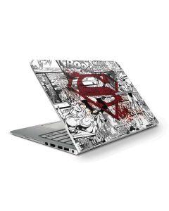 Superman Comic Logo in Red HP Stream Skin