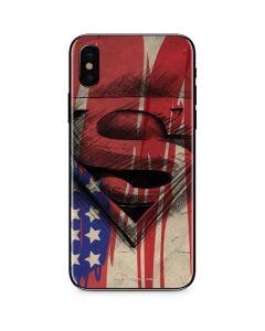 Superman Crest iPhone XS Skin