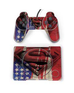 Superman Crest PlayStation Classic Bundle Skin