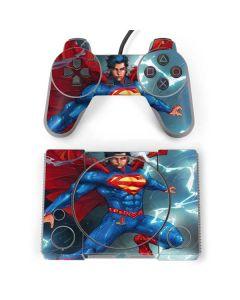 Superman Elements PlayStation Classic Bundle Skin