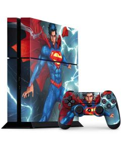 Superman Elements PS4 Console and Controller Bundle Skin