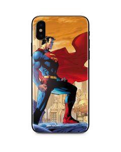 Superman iPhone X Skin