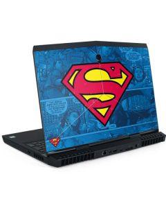 Superman Logo Dell Alienware Skin