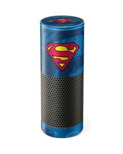 Superman Logo Amazon Echo Skin