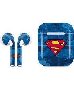 Superman Logo Apple AirPods Skin