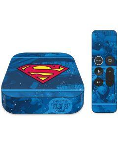 Superman Logo Apple TV Skin