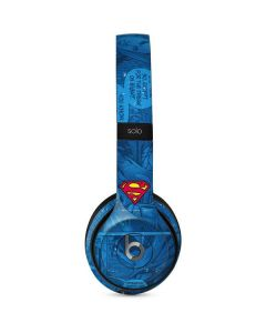Superman Logo Beats Solo 2 Wired Skin