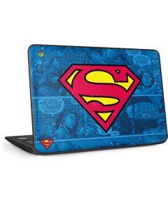 Superman Logo HP Chromebook Skin