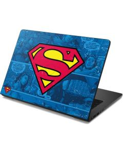 Superman Logo Dell Chromebook Skin