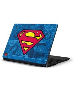 Superman Logo Samsung Chromebook Skin