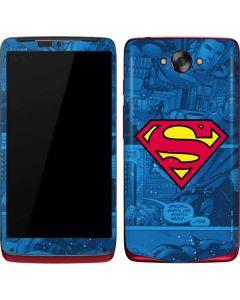 Superman Logo Motorola Droid Skin