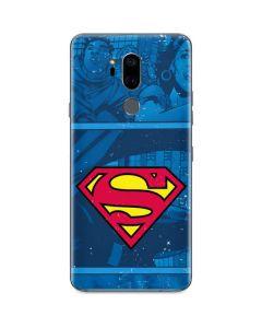 Superman Logo G7 ThinQ Skin