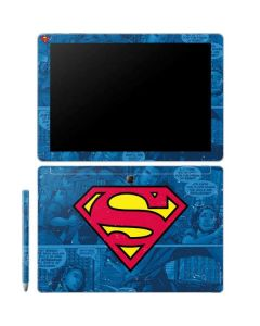 Superman Logo Galaxy Book 10.6in Skin