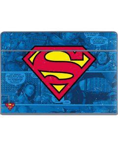 Superman Logo Galaxy Book Keyboard Folio 12in Skin