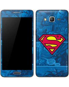 Superman Logo Galaxy Grand Prime Skin