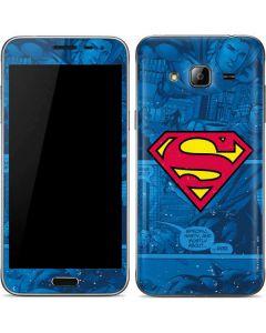 Superman Logo Galaxy J3 Skin