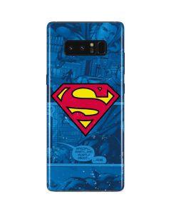 Superman Logo Galaxy Note 8 Skin