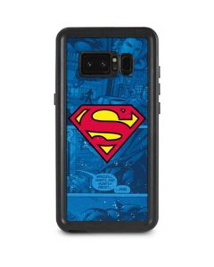 Superman Logo Galaxy Note 8 Waterproof Case