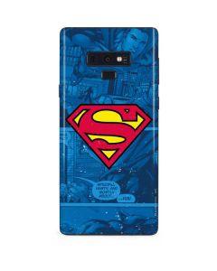 Superman Logo Galaxy Note 9 Skin