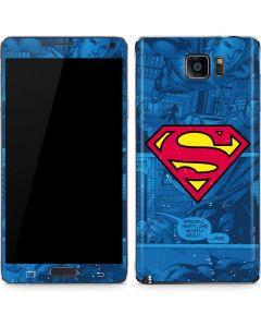 Superman Logo Galaxy Note5 Skin