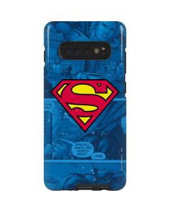 Superman Logo Galaxy S10 Plus Pro Case