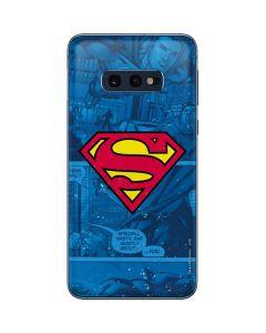 Superman Logo Galaxy S10e Skin